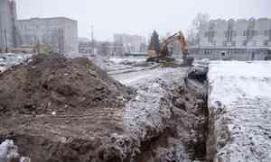 «Объект колоссальной важности»: вАрхангельске начали строить новый корпус областной детской больницы