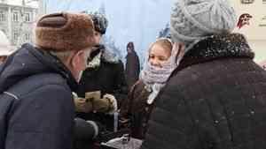 Всероссийская акция памяти «Блокадный хлеб» прошла сегодня в Поморье