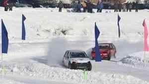 В Вельском районе стартовал Кубок Поморья по ледовым гонкам