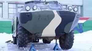 В Архангельске появился макет разведывательно-дозорной машины