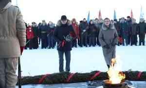 ВАрхангельске почтили память защитников Отечества