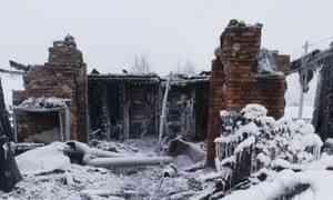 ВВельском районе врезультате пожара семья с маленькими детьми осталась без крова