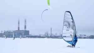 В выходные в Архангельске пройдут соревнования по виндсерфингу и сноукайтингу