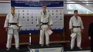 Дзюдоисты Поморья завоевали три медали на первенстве Северо-Запада России