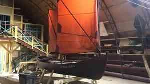 В Архангельске на верфи Товарищества поморского судостроения готов первый карбас