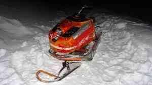 В Поморье пьяный водитель снегохода сбил ребёнка на «ватрушке»
