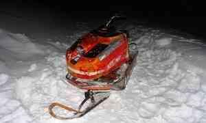 ВЛешуконском районе пьяный водитель снегохода сбил девочку на«ватрушке»