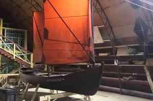 Верфь поморского судостроения построила первый карбас «Архангелъ»