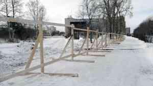 В квартале 100 Северодвинска ведется подготовка к строительству парка