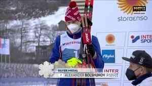 Александр Большунов лучший по числу медалей на чемпионате мира по лыжным гонкам