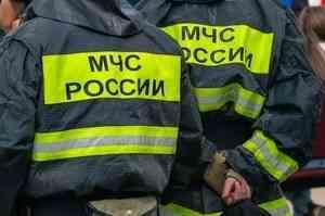 Квартира восьмиквартирного дома горела в Архангельске
