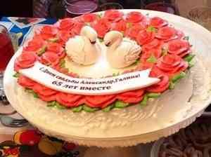 Супруги Лопаткины отмечают «железную свадьбу»