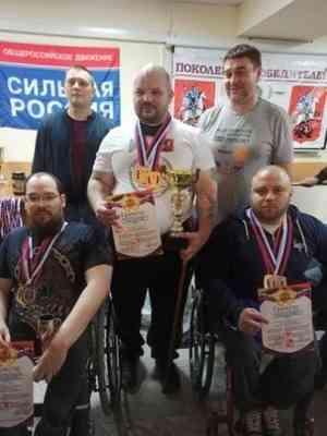Спортсмен Коряжмы взял золота на кубке Дикуля