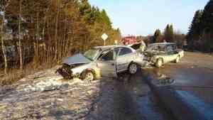 В Каргопольском районе после ДТП в больнице оказались трое человек