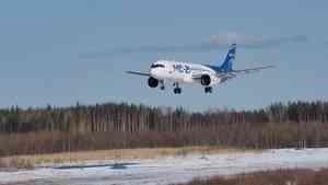 Самолёт «МС-21-300» успешно прошёл испытания в Архангельской области