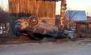 ВКотласском районе устанавливают обстоятельства ДТП, вкотором один человек погиб, двое пострадали