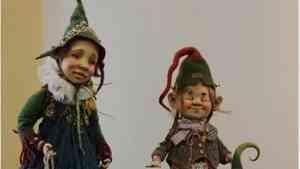 В Архангельске открылась арктическая выставка кукол