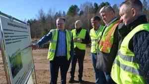 Устьяны: новый мост и старт очередного объекта дорожного нацпроекта