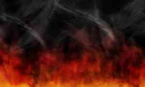 В Архангельске на Кегострове произошёл крупный пожар