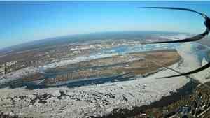 Вторая волна паводка ожидается в Архангельской области
