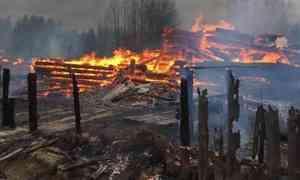 «Пламя шло стеной»: вняндомский посёлок Новаяпришла беда— сгорели семь домов