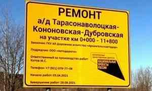 ВУстьянах приступают кработе понациональному проекту «Безопасные качественные дороги»