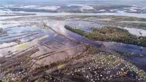 Оперативная информация об уровне воды в реке Вычегда (Коряжма)