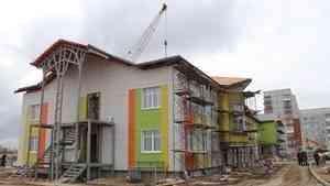 Строительство детского сада в Северодвинске идет по графику