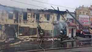 Нарушение ковидных ограничений в сгоревшем ресторане «Девичья башня» подтвердилось