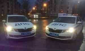 Северодвинскую госавтоинспекцию пополнили новые патрульные автомобили
