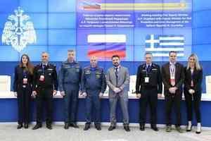 МЧС России посетила делегация Греческой Республики во главе с замминистра по защите граждан