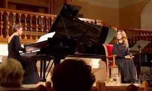 Необычный музыкально-литературный концерт прошёл сегодня в Архангельской Кирхе