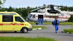 В Санкт-Петербурге прошли учения по оказанию медицинской помощи населению подразделениями МЧС России