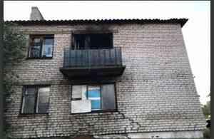 В Ленском районе мужчина пострадал при пожаре из-за жидкости для розжига