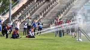 В Поморье прошли детские игры по пожарно-прикладному спорту