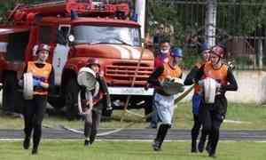 В Архангельской области прошли детские игры по пожарно-прикладному спорту
