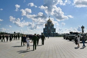 В главном храме Вооруженных Сил за год побывали более полутора миллионов человек