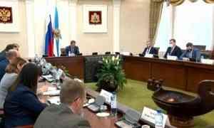 Опротиводействии распространению врегионе новой коронавирусной инфекции шла сегодня речь наеженедельном оперативном совещании при губернаторе Архангельской области