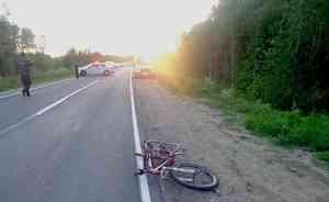 Под Новодвинском пьяный водитель сбил двух велосипедистов