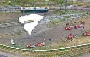 Зауральские огнеборцы провели пожарно-тактические учения на железной дороге