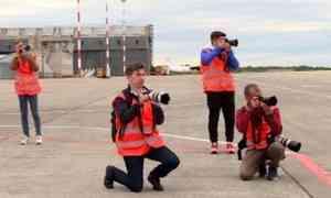 Настоящая охота была накануне на территории аэропорта «Архангельск»
