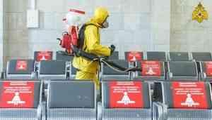 Специалисты Центра «Лидер» провели дезинфекцию Ярославского вокзала