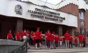 Северный народный хор отправился в долгожданный гастрольный тур по черноморскому побережью России на целых 24 дня