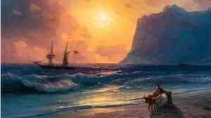 В столицу Поморья привезли полотна Ивана Айвазовского