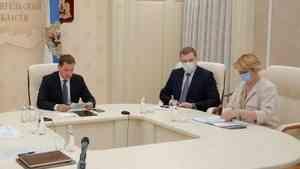 Руководители регионов доложили полпреду в СЗФО о темпах вакцинации
