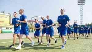 Архангельский «Водник» начал подготовку к новому хоккейному сезону