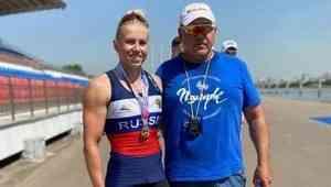 Архангелогородка выиграла вторую золотую медаль на чемпионате России по гребле