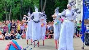 Фестиваль уличных театров в Архангельске откроют «Огненные люди»