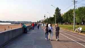 Тридцатиградусная жара задержится в Архангельской области ещё на пару дней