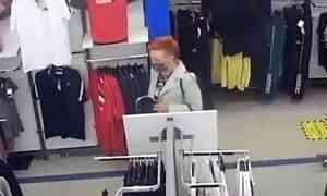 Любительница спортивного стиля украла одежду на 70 тысяч рублей